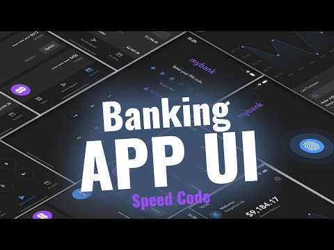 Banking App UI with React Native (Speed Code)