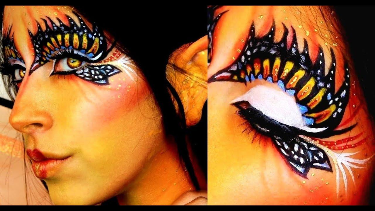 Halloween Makeup: Butterfly Fairy - YouTube