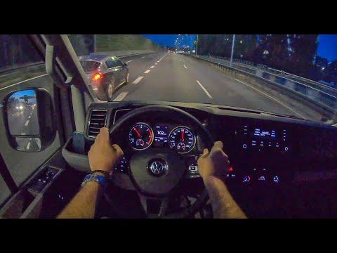 Crafter Night | 4K POV Test Drive #273 Joe Black