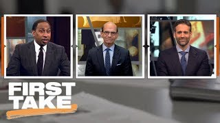 First Take debates latest College Football Playoff rankings | First Take | ESPN