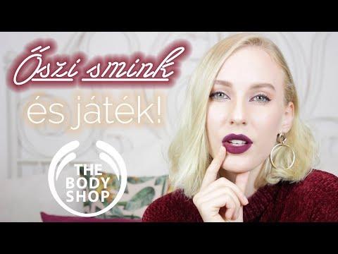 Őszi smink + NYEREMÉNYJÁTÉK |  The Body Shop x Hédinke