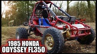 ridesonsunday the 1985 honda odyssey fl350