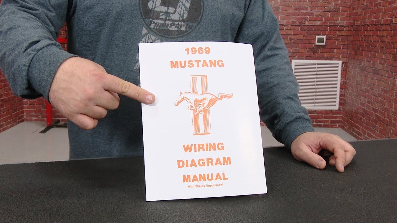 Jim Osborn Reproductions Wiring Diagram Manual For All 1970 Mustangs