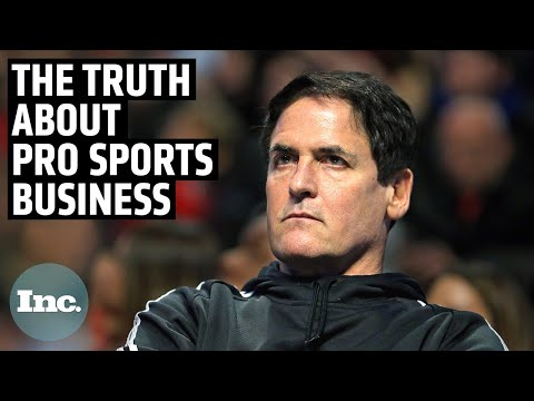 Mark Cuban Gets Brutally Honest About the Pro Sports Business | Inc.