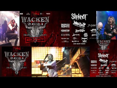 SLIPKNOT, U.D.O., DEATH ANGEL, AT THE GATES and more added to WACKEN OPEN AIR 2021!