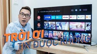 Trên tay Tivi Coocaa 40S5G: chạy Android, giá cực tốt