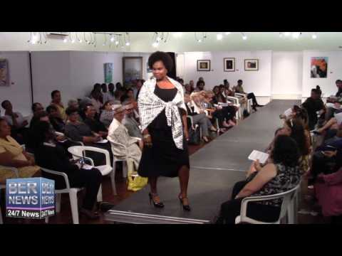 Rene Hill At Bermuda Fashion Collective, November 3 2016