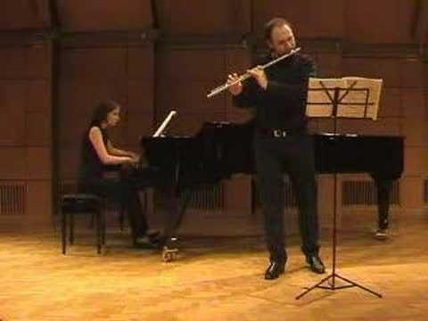 P.Hindemith - Flute Sonata 1 part (D.Varelas)