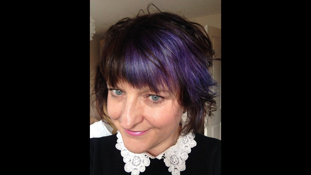 lavender purple hair review using violet directions by la. Black Bedroom Furniture Sets. Home Design Ideas