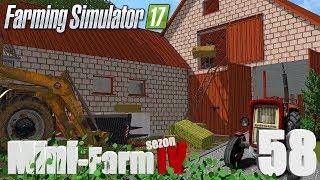 """Farming Simulator 17 Mini-Farm #58 - """"Krowa też coś jeść musi"""""""