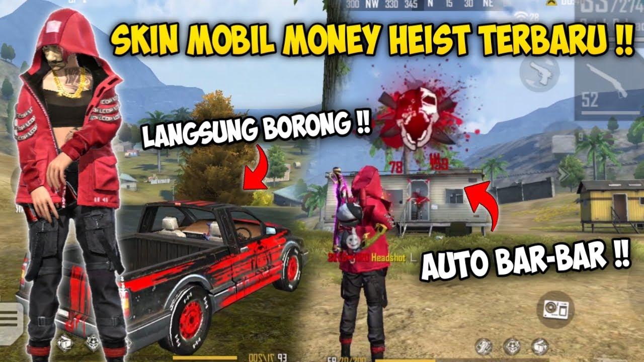 ACAK ACAK PURGATORY PAKE SKIN MOBIL MONEY HEIST TERBARU !! FreeFire