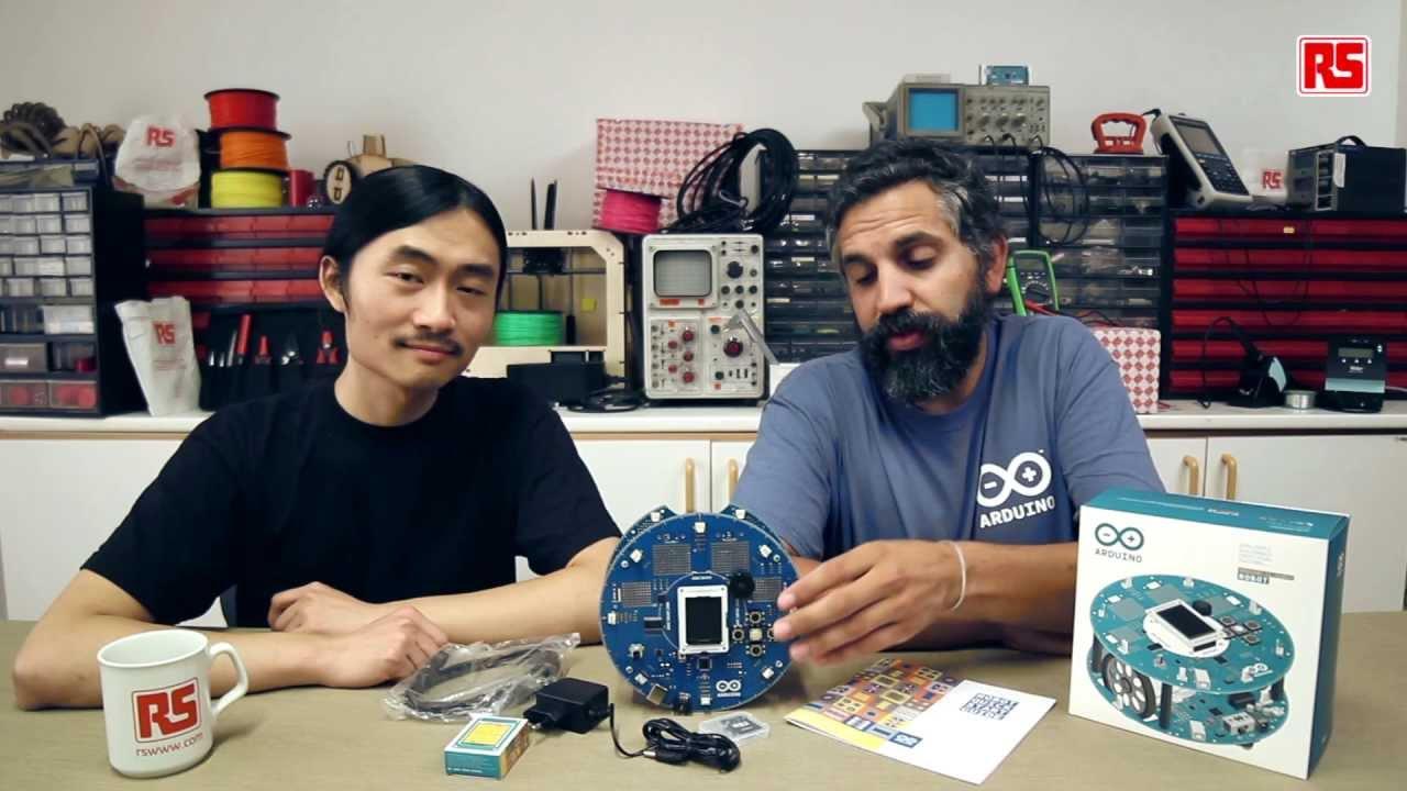 Arduino Blog » Arduino Robot video tutorials: RS Components