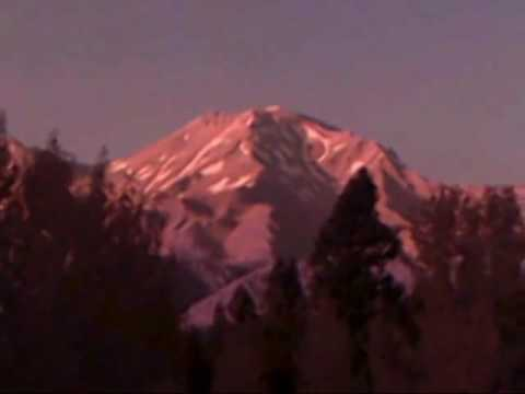 """ROD Shape UFO Entity Caught On Camera Mount Shasta CA March 10 2017"