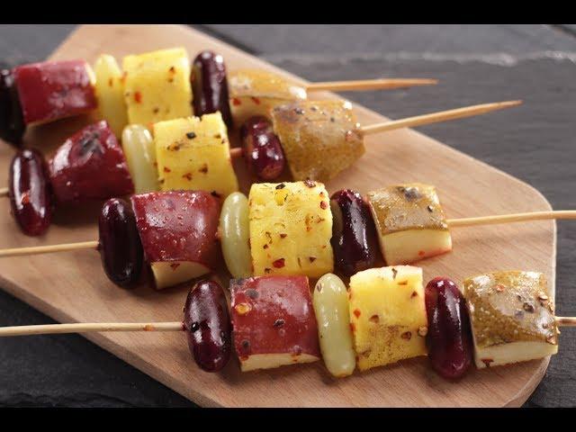Fruit Kebab | Sanjeev Kapoor Khazana