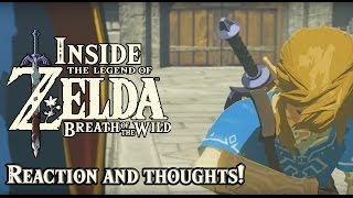 "Inside Zelda Breath of the Wild - ""Life in the Ruins"" Reaction and Rough Analysis"