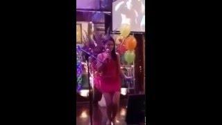 Famous Lek singing in Thailand