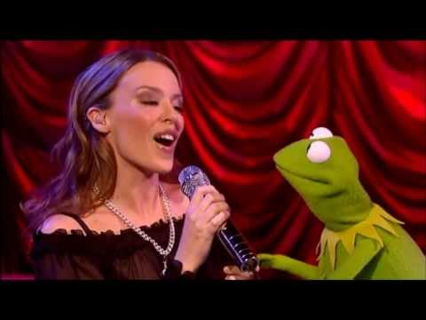 Kylie Minogue & Kermit the Frog - Especially For You (Live An Audience With Kylie 6-10-2001) HD