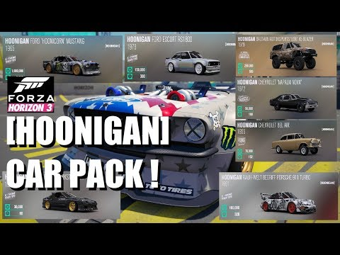 Forza Horizon 3 Hoonigan Car Pack - all the cars
