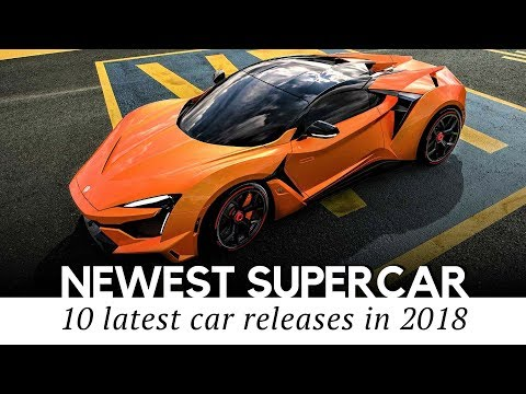 Top 10 Upcoming Supercars and Sports Autos Revealed in 2018 (Comparing Specifications)