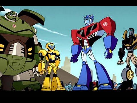 Dessin animé transformers