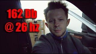 Мощнейший Хейртик )) 162 Db @ 26 hz - Белая Панда от Басс Механик ;)