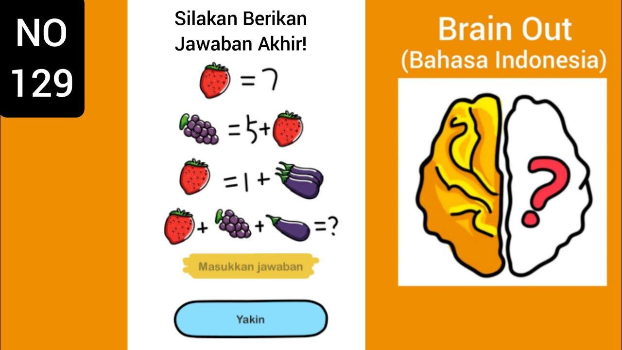 Brain Out Level 129 Silakan Berikan Jawaban Akhir Jawaban Games