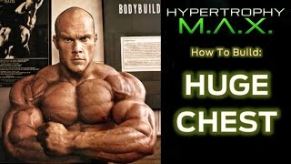 How To Build A Huge Chest In 1 Workout (intra-set Stretching Chest Workout)