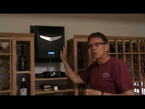 Walkthrough & Tour of Beautiful Virginia Home Wine Cellar | Harvest Wine Cellars & Saunas