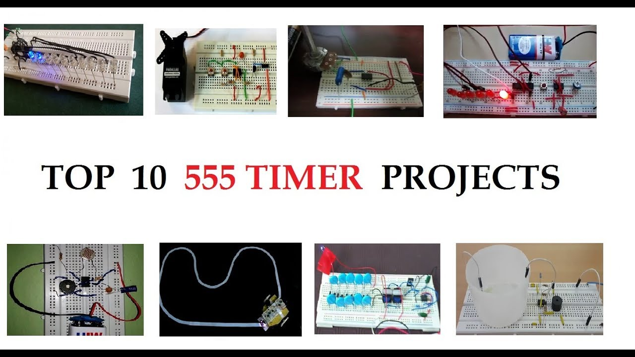 Top 10 555 Timer Ic Projects For Beginners In 2018 Youtube Lm555 Circuits Pearltrees