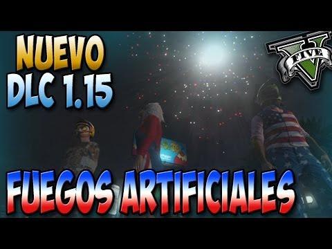 GTA V Online - Nuevo DLC - Todos los Fuegos Artificiales - DLC Día de la independencia - GTA 5