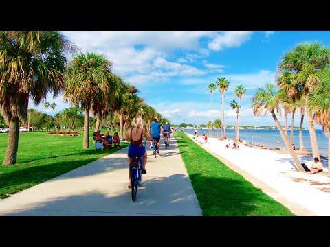 St. Petersburg, Florida, Vinoy Park & Marina | Walking Tour