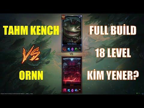 Tahm Kench Vs Ornn Full Build 18 Level 1v1