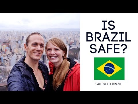 Is Brazil Dangerous?! | Americans First Impressions of Brazil!