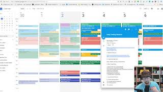 Use Google Calendar to build your Daily Trading Routine