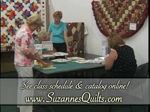 Suzanne's Quilt Shop in Georgia - YouTube : suzannes quilt shop - Adamdwight.com