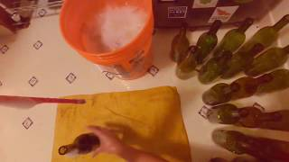 Bottling a Wild Grapes California Cabernet Sauvignon Red Wine Kit From Amazon