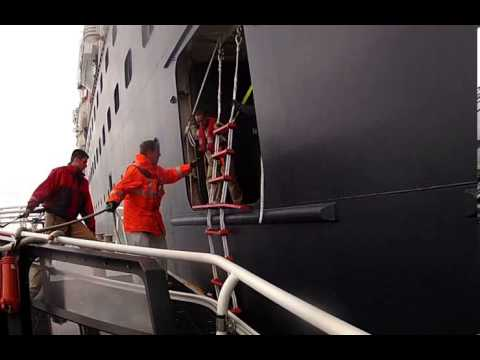 Maritime Training: Pilot Ladders: Safe Rigging Procedures