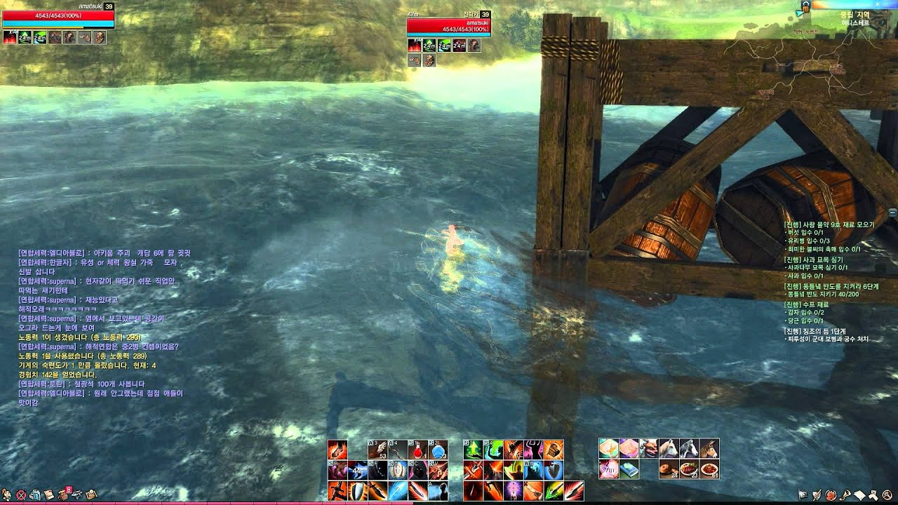 Видео ArcheAge CBT4 - Building a speed boat with a harpoon gun