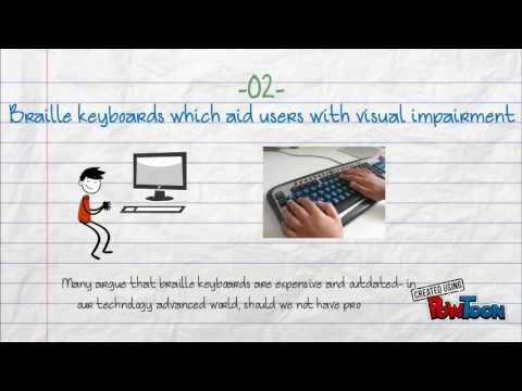 Examples Of Assistive Technology In Education Youtube
