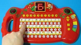 Интерактивная говорящая азбука. Учим цифры, буквы и алфавит. Learn Russian Alphabet with Talking Toy