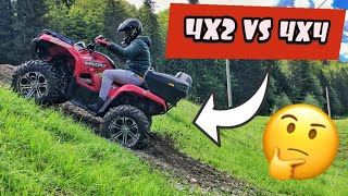 ATV VLOG | COMPARATIE 4x2 VS 4x4