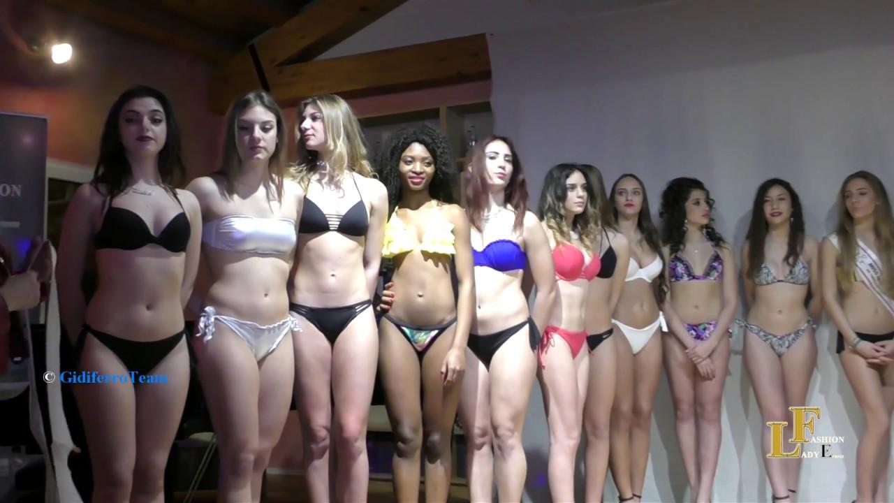 Fashion Lady Eventi Miss Aspiranti Fotomodelle Sfilata in Bikini e Premiazioni