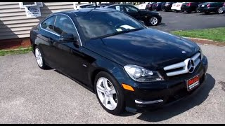 2012 Mercedes-Benz C250 Coupe Walkaround, Start up, Exhaust and Tour