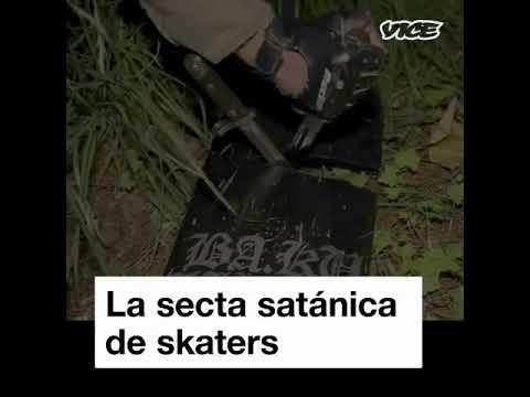 SECTA SATÁNICA SKATER!