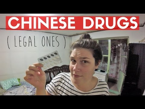BUYING CHINESE DRUGS (legal ones) | Beijing Aug Vlog 16