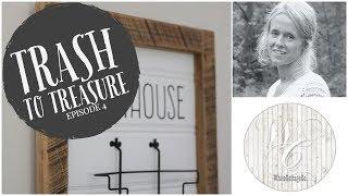 Trash to Treasure Episode 4 - Magazine Rack Repurpose