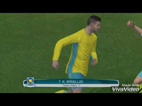 Top 10 goals by Kevin Mirallas in Pes2017