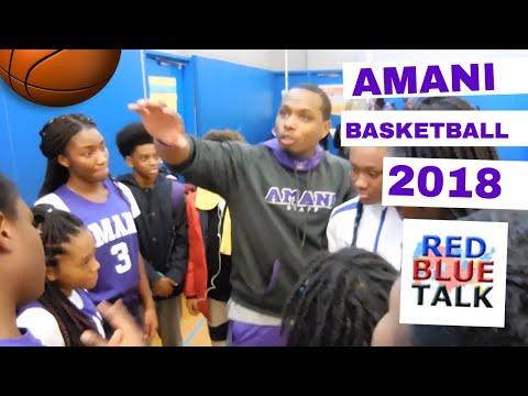 Amani Public Charter School Basketball 2018