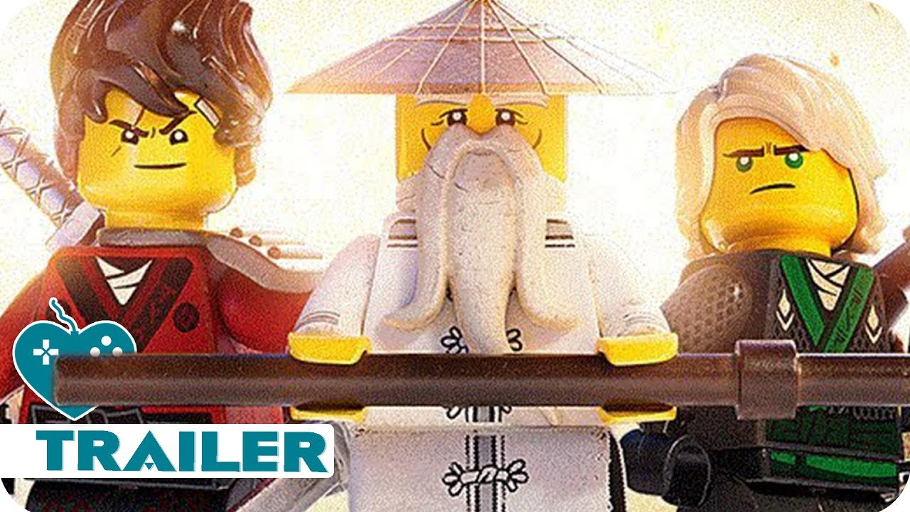 THE LEGO NINJAGO MOVIE VIDEO GAME Trailer (2017) PS4, Xbox ...