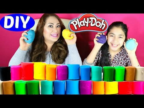 Play Doh Diy How To Make Play Doh At Home Really Easy